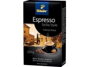 Tchibo Espresso Sicilia Style - pražená mletá káva 250g