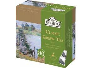 Čaj Classic Green Tea - zelený čaj 80ks Ahmad Tea