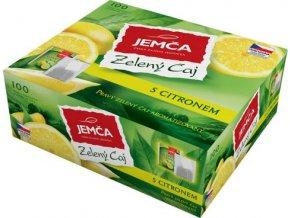 Zelený čaj s citrónem 100x1,5g Jemča