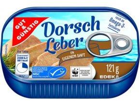 Dorsch Leber - Tresčí játra 121g Edeka