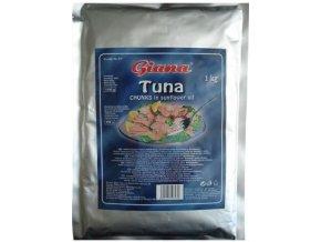 Tuna - Tuňák kousky ve slunečnicovém oleji 1kg Giana