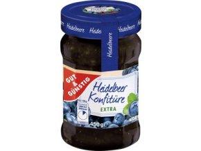 Hidelbeere Konfiture Extra - borůvkový extra džem 450g Edeka
