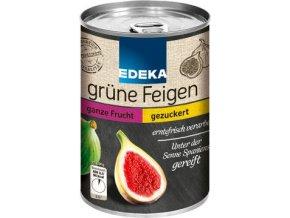 Kompot Grune Feigen - Zelené fíky v lehce slazeném nálevu 420g EDEKA