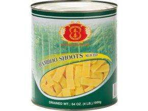 Bamboo Shoots Sliced - Bambus nakládaný plátky 2,95kg Spring Happiness