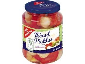 Mixed pickles - Směs zeleniny ve sladko-kyselém nálevu 330g Edeka