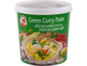 Green Curry Paste - Pasta Kari zelená 1kg