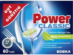 Power Classic -  Tablety do myčky 60ks Edeka