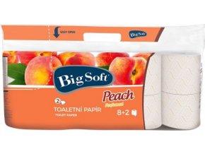 Big Soft Peach - Toaletní papír 2 vrstvý 8x200 útržků
