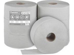 Toaletní papír Jumbo 1 vrstvý šedý 6 rolí průměr 23cm