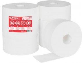 Toaletní papír Jumbo 2 vrstvý bílý 6 rolí průměr 23cm