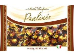 Bonbóny Pralines milk chocolate wiht cappuccino filling - čokoládovo-kapučínové pralinky 1kg Maitre Truffout