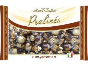 Bonbóny Pralines duo with hazelnut cream filling - duo pralinky s oříškovým krémem 1kg Maitre Truffout