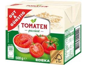 Tomaten passiert - Rajčatové pyré 500g Edeka