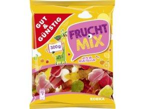 Bonbóny Frucht Mix - želatinový ovocný mix 300g Edeka