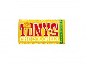 Tony's Chocolonely – mléčná čokoláda, nugát 180 gramů
