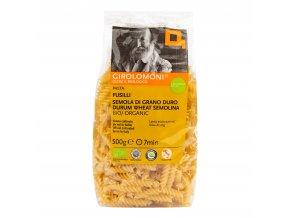 Těstoviny fusilli semolinové 500 g BIO GIROLOMONI