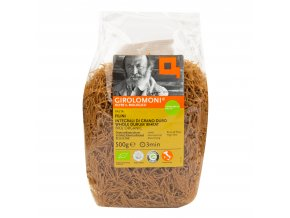 Těstoviny filini celozrnné semolinové 500 g BIO GIROLOMONI