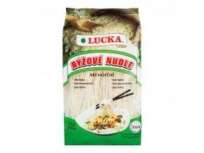 Těstoviny nudle rýžové 1 mm bezlepkové 240g LUCKA