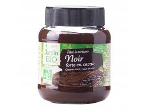 Pomazánka kakaová tmavá 350g BIO JARDINBIO