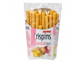 Tyčinka amarantová Crispins bezlepková 50 g BIO EXTRUDO