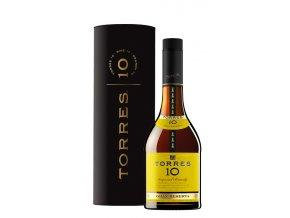Torres brandy 10 yo Gran Reserva 0,7l v dárkové tubě