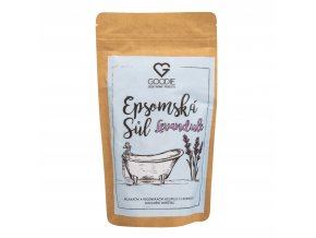 Epsomská sůl s levandulí 250 g GOODIE