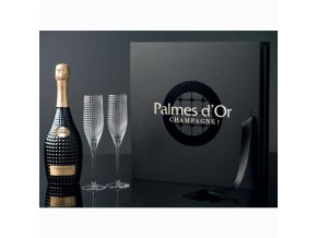 Palmes d Or 1999 s 2 vysokými skleničkami