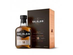 Whisky Balblair 18YO - v dárkovém balení 46% 0,7l