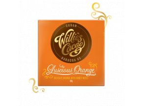 Willies Cacao Cuban Luscious Orange Hořká čokoláda s pomerančem 65% 50g