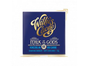 Willies Cacao Milk of the Goods Rio Caribe Mléčná čokoláda 44% 50g