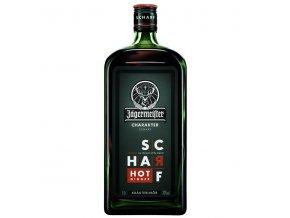 Jagermeister Scharf Hot Ginger 33% 1 l (holá láhev)