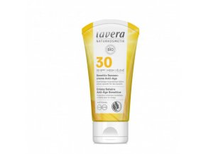 opalovaci krem sensitiv spf 30 bio anti age 50 ml lavera