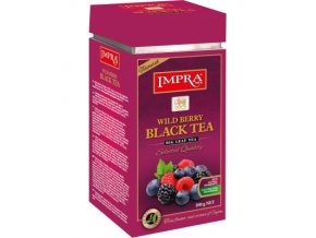 Čaj Impra Wild Berry Black Tea - černý čaj sypaný s lesním ovocem 200g