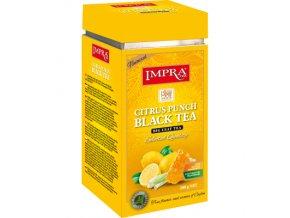Čaj Impra Citrus Punch Black Tea - černý čaj sypaný s citrónem a medem 200g