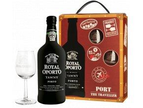 Royal Oporto Tawny - v dárkovém balení se 2 skleničkama 19% 0,75l