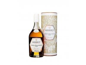 Cognac Godet Single Grape Rare Montils 40% 0,7 l (tuba)