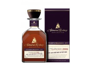 Admiral Rodney Officers Release No. 1 ex Port
