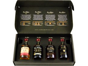 Rum Dos Maderas Tasting Set 4x0,05l