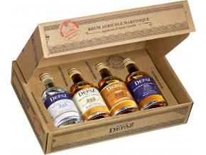 Rum Depaz Miniature Kit 4x0,05l
