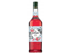 Giffard Rose - sirup z růží 1l
