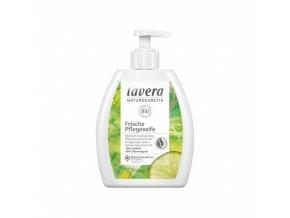 tekute mydlo frische pflegeseife limetka a citronova trava bio 250 ml lavera