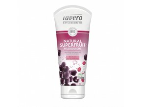 sprchovy gel natural superfruit 200 ml lavera