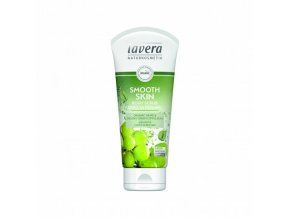 telovy peeling smooth skin bio 200 ml lavera
