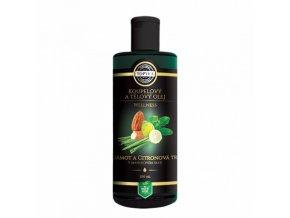 bergamot a citronova trava v mandlovem oleji 200ml topvet