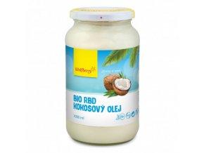rbd kokosovy olej bio 1000 ml wolfberry