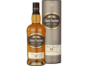 Glen Turner Single Malt Scotch Whisky 12YO  0,7 l  dárkové balení