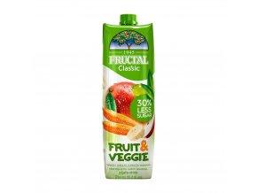 fruit veggie z manga jablek mrkve bananu a bilych hroznu fructal 1000ml