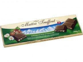 26684 maitre truffout mlecna cokolada s orisky swiss 300g