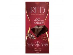 red horka cokolada extra se snienym obsahem kalorii bez pridaneho cukru 60 kakaa 100g 2355854 1000x1000 fit