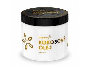 Panenský kokosový olej Wolfberry BIO 650 ml